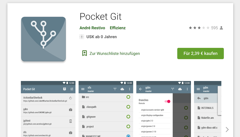 Pocket Git